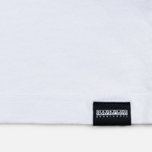 Мужская футболка Napapijri Sase Bright White фото- 3