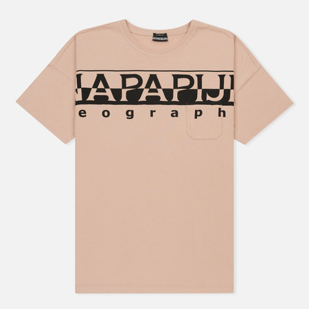 Мужская футболка Napapijri Saumur T1 Tea Rose