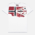 Napapijri Sector Men's T-shirt Bright White photo- 0