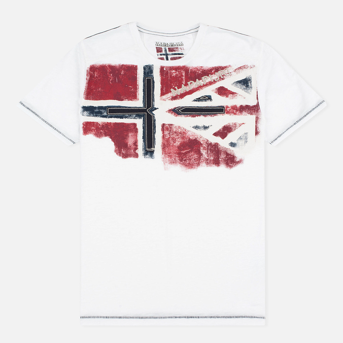 Napapijri Sector Men's T-shirt Bright White