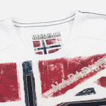 Мужская футболка Napapijri Sector Bright White фото- 1
