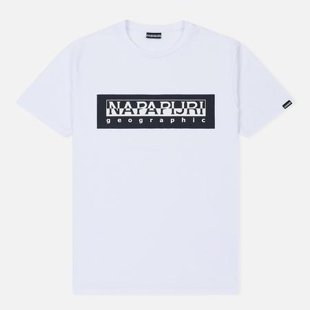 Мужская футболка Napapijri Sele Bright White
