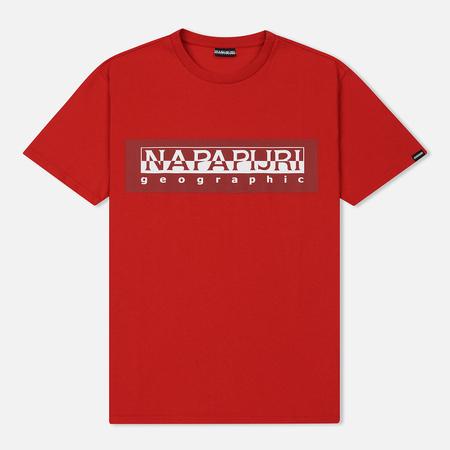 Мужская футболка Napapijri Sele Cherry Red