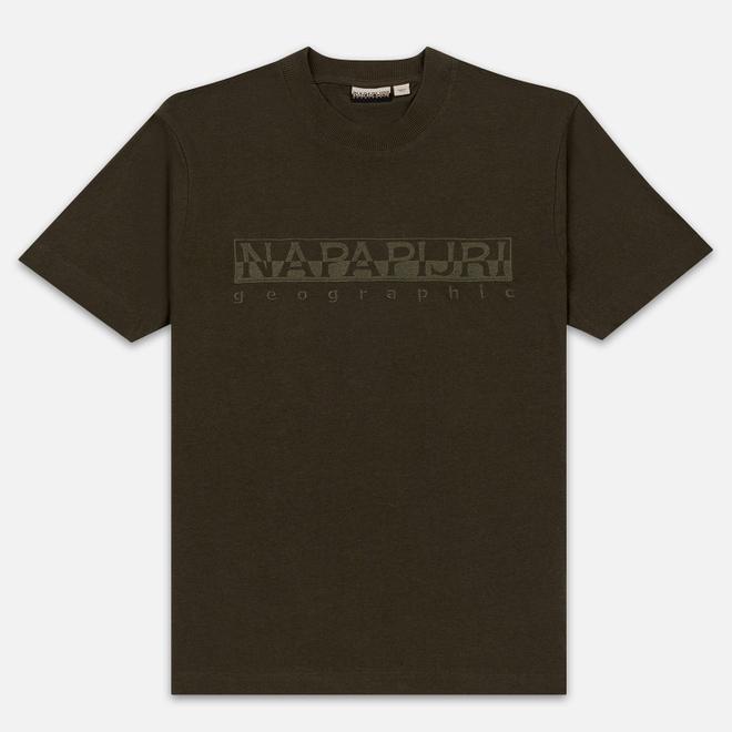 Мужская футболка Napapijri Serber Green Forest