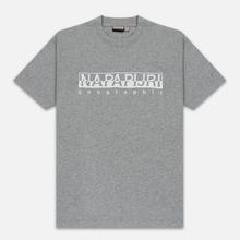 Мужская футболка Napapijri Serber Grey фото- 0