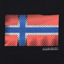 Мужская футболка Napapijri Sibu Black фото- 2