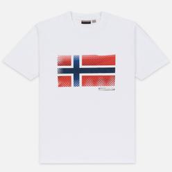 Мужская футболка Napapijri Sibu Bright White
