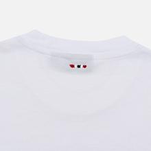 Мужская футболка Napapijri Sibu Bright White фото- 4