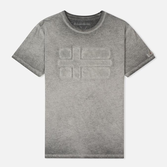 Мужская футболка Napapijri Slaj Dark Grey