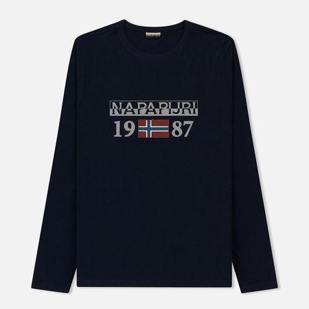 Мужской лонгслив Napapijri Solin 1 Blue Marine