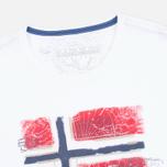 Мужская футболка Napapijri Sollas White фото- 1