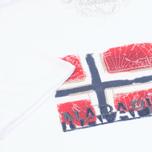 Мужская футболка Napapijri Sollas White фото- 3