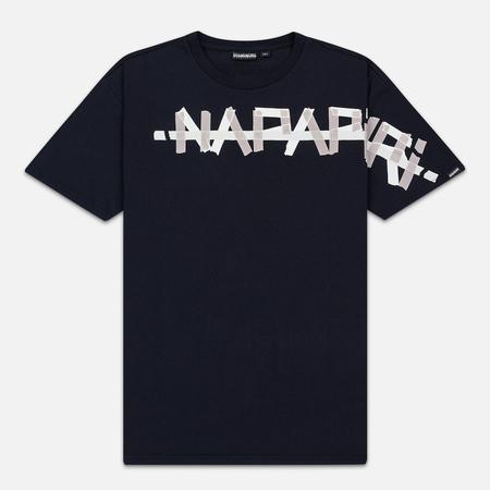 Мужская футболка Napapijri Solt Blue Marine