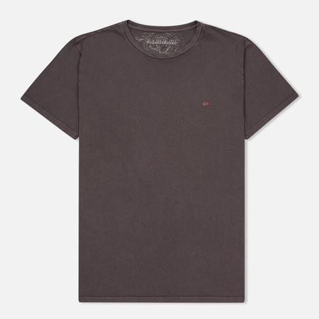 Napapijri Мужская футболка Sombre Crew Taupe Brown