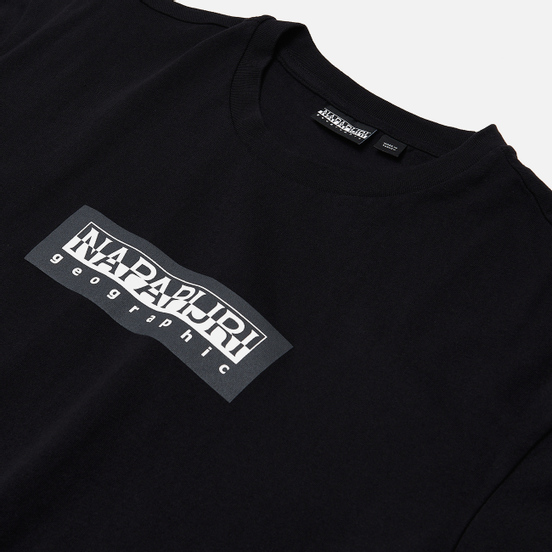Мужская футболка Napapijri Sox 1 Black
