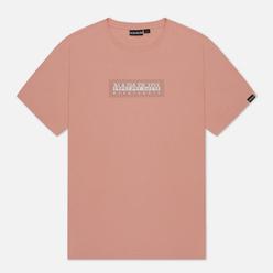 Мужская футболка Napapijri Sox 1 Coral Pink