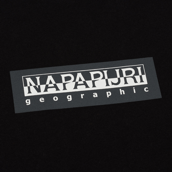 Мужская футболка Napapijri Sox Black