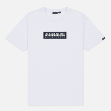 Мужская футболка Napapijri Sox Bright White фото- 0