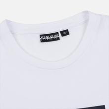 Мужская футболка Napapijri Sox Bright White фото- 1