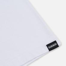 Мужская футболка Napapijri Sox Bright White фото- 3