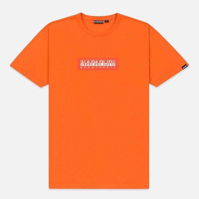 Мужская футболка Napapijri Sox Orange Puffin