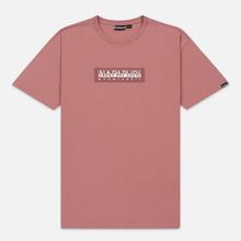 Мужская футболка Napapijri Sox Pink Old Rose фото- 0
