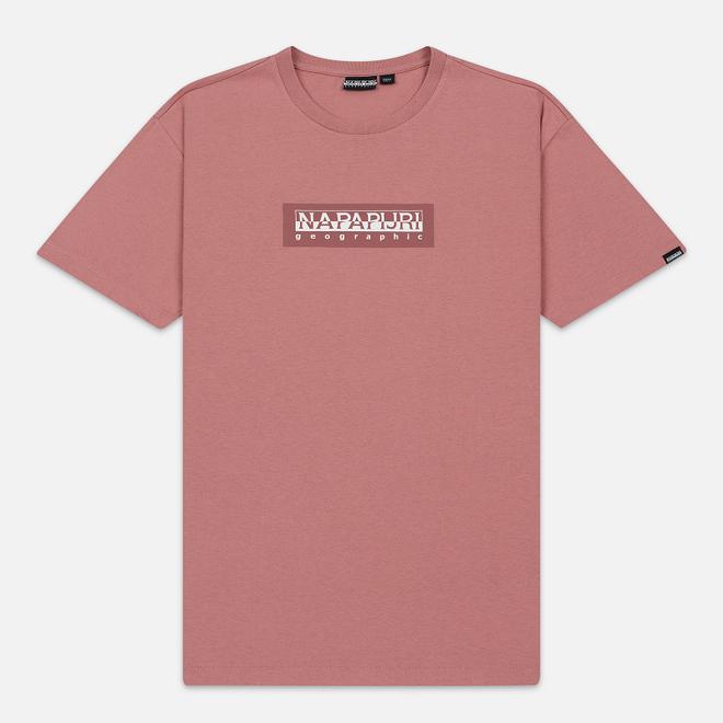 Мужская футболка Napapijri Sox Pink Old Rose