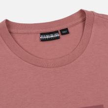 Мужская футболка Napapijri Sox Pink Old Rose фото- 1