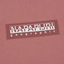 Мужская футболка Napapijri Sox Pink Old Rose фото- 2