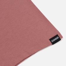 Мужская футболка Napapijri Sox Pink Old Rose фото- 3