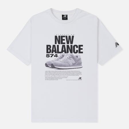 Мужская футболка New Balance 574 White