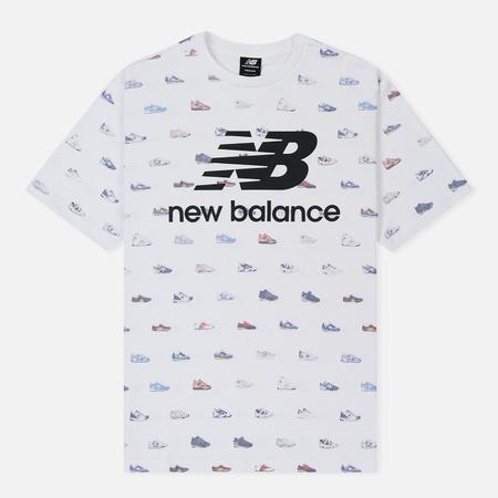 Мужская футболка New Balance Archive White