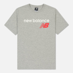 Мужская футболка New Balance Athletics Main Logo Athletic Grey фото- 0