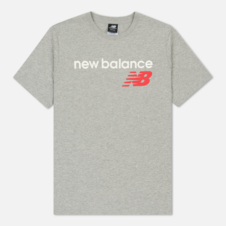 Мужская футболка New Balance Athletics Main Logo Athletic Grey