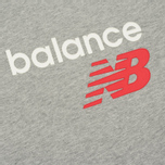 Мужская футболка New Balance Athletics Main Logo Athletic Grey фото- 2