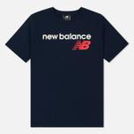 Мужская футболка New Balance Athletics Main Logo Pigment фото- 0