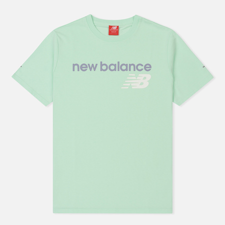Мужская футболка New Balance Athletics Main Logo Seafoam