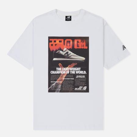 Мужская футболка New Balance Ghost White