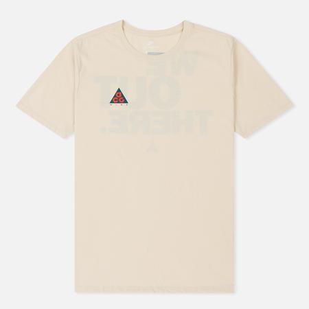 Мужская футболка Nike ACG Cltr 1 Light Cream/Geode Teal
