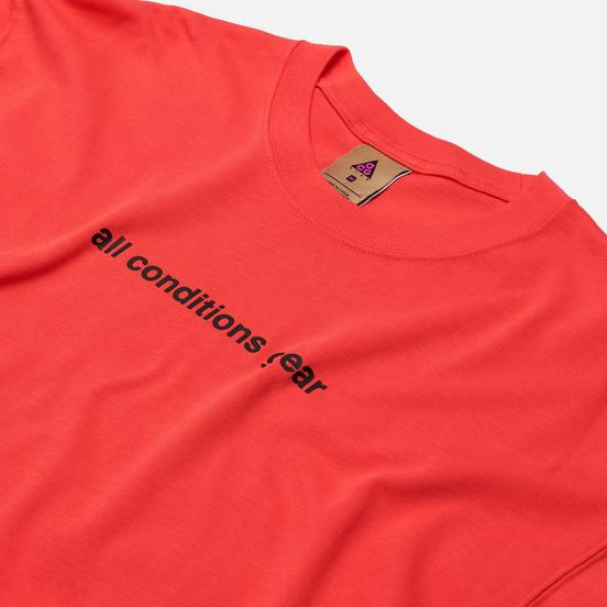 Мужская футболка Nike ACG NRG 3D Graphic Logo Ember Glow