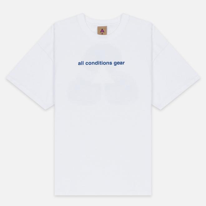 Мужская футболка Nike ACG NRG 3D Graphic Logo White