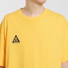 Мужская футболка Nike ACG NRG Logo Amarillo/Black фото- 2