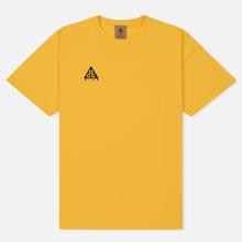 Мужская футболка Nike ACG NRG Logo Amarillo/Black фото- 0