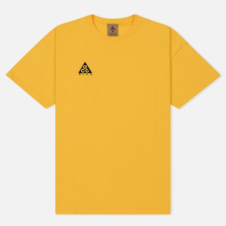 Мужская футболка Nike ACG NRG Logo Amarillo/Black
