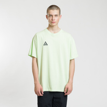 Мужская футболка Nike ACG NRG Logo Barely Volt/Black фото- 1