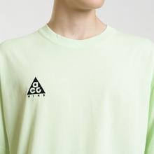 Мужская футболка Nike ACG NRG Logo Barely Volt/Black фото- 2
