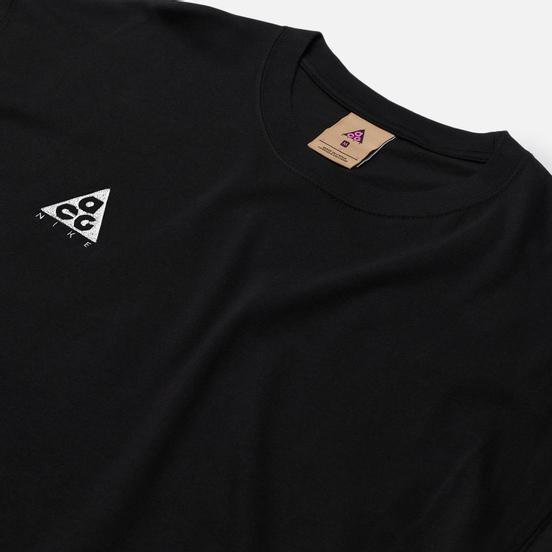 Мужская футболка Nike ACG NRG Logo Black/Anthracite