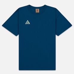 Мужская футболка Nike ACG NRG Logo Blue Force/Barely Volt