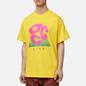 Мужская футболка Nike ACG NRG Logo Evo Opti Yellow/Active Fuchsia фото - 2