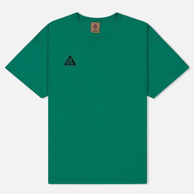 Мужская футболка Nike ACG NRG Logo Lucid Green/Black